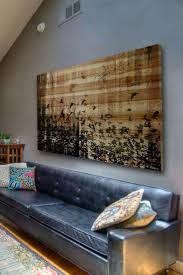 36 art ideas for a large wall and warmth to your home with wall