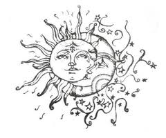 half sun half moon meaning tattoos