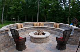 the fire pit 13 brick fire pits and the homes and gardens that surround them
