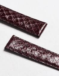 bracelet montre images Bracelet montre en cuir de python rouge camille fournet paris jpg