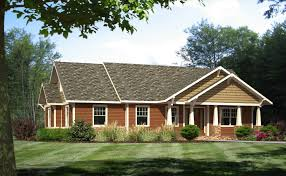 single story ranch homescraftsman style home exteriors ranch plans