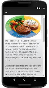 food lovers diet guide android apps on google play