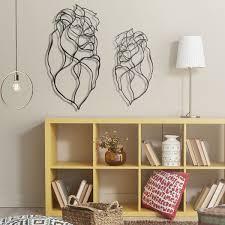tiger head wooden wall art set of 2 tigers 3d designer wall decor