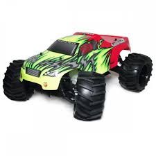 rc nitro monster trucks himoto bruiser 1 8 scale nitro rc monster truck 2 4ghz
