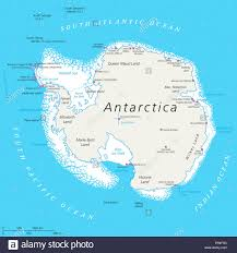 map of antarctic stations antarctica political map with south pole scientific research