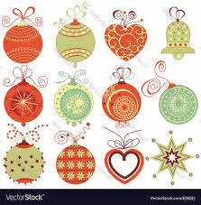 retro ornaments royalty free vector image