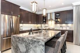 eat at kitchen islands eat in island kitchen contemporary kitchen with marble waterfall