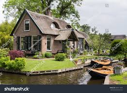Giethoorn Holland Homes For Sale by Charming Little House Giethoorn Netherlands Stock Photo 204111820