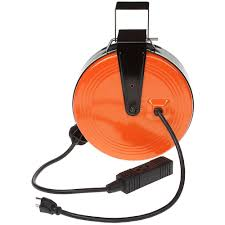 Home Depot Outlet Store by 30 Ft 16 3 Heavy Duty Retractable Reel With 3 Outlets Hd 800