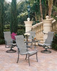 Florida Patio Furniture Furniture Fill Your Patio With Mesmerizing Tropitone Furniture