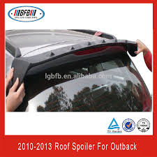 subaru vortex rear window roof spoiler fin vortex for subaru outback 2010 2013