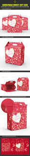 christmas sweet gift box template by packagio graphicriver