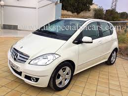 mercedes a class 160 automatic lhd