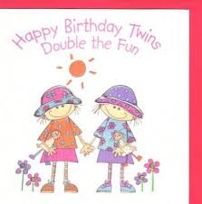 card invitation design ideas twins birthday card double sketch