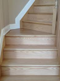 Finish Stairs To Basement by Gorsegner Brothers Hardwood Floors Features Replacement Red Oak