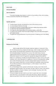 62063954 case study bipolar disorder