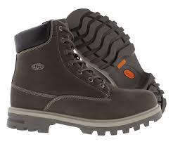 lugz empire hi wr men u0027s boot 8 5 charcoal grey ebay