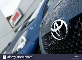 t0y0ta cars toyota cars are pictured for sale on a dealership forecourt stock
