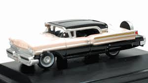 peach car oxford 1 87 ho mercury turnpike cruiser 1957 black pastel peach
