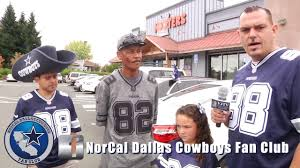 dallas cowboys fan club norcal dallas cowboys fan club teaser youtube