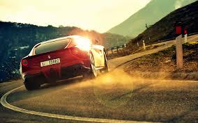 Ferrari F12 Back - ferrari f12 berlinetta wallpapers ferrari f12 berlinetta stock
