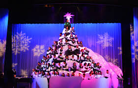 75th annual singing christmas tree