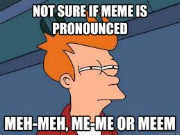 Not Sure If Meme - not sure if meme is pronounced meh meh me me or meem futurama fry