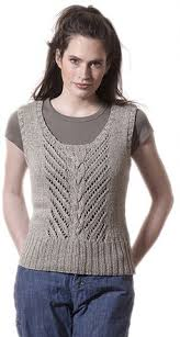 valentine vest knit pattern from anniescatalog com this casual