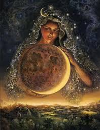 josephine wall moon goddess