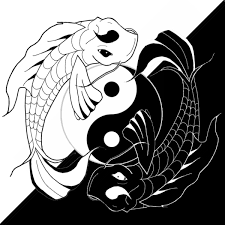 ying yang koi fish by benjiprice on deviantart