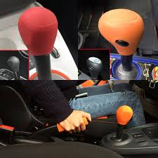 1pc tailor fit car silicone gear head gear knob cover for smart