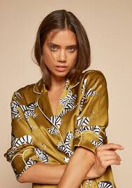 Mona Lila Mona Silk Pyjamas The Ellsworth Collection Shop Olivia