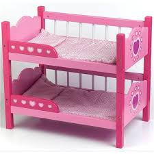 Dolls World Wooden Bunk Beds Amazoncouk Toys  Games - Dolls bunk bed