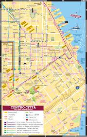 San Francisco Downtown Map by Passeggiate San Francisco San Francisco Guida Turistica Di Chaperon