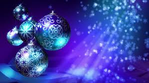 Christmas Decorations Blue And Red by Christmas Background Loop Rotating Christmas Decorations And