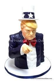 trump cake 3d
