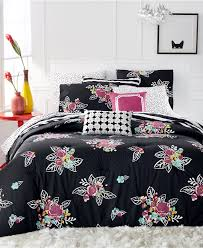 Full Xl Comforter Sets Martha Stewart Collection Whim Night Blooms 4 Pc Twin Twin Xl
