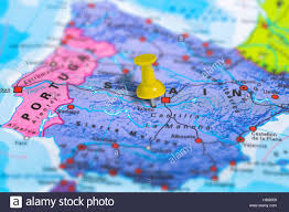 Spain Map Toledo Spain Map Stock Photo Royalty Free Image 125745909 Alamy