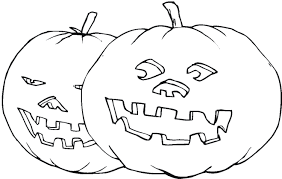 scary halloween pumpkin coloring pages for kids womanmate com