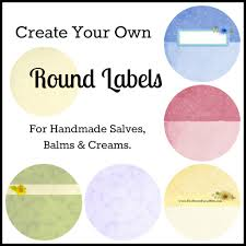 diy lables templates boutique leaves print to the edge round