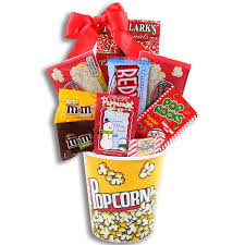 popcorn gift baskets alder creek candy and popcorn gift basket jcpenney