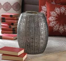 Ceramic Accent Table by Wholesale Metal Accent Table Moroccan Lace Pattern Metal Stool