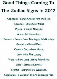 Meme Zodiac Signs - good things coming to the zodiac signs in 2017 capricorn bonus