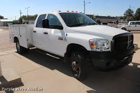 Dodge 3500 Diesel Utility Truck - 2008 dodge ram 3500 quad cab utility bed pickup truck item