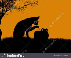 orange black halloween background halloween halloween silhouette stock illustration i2735446 at