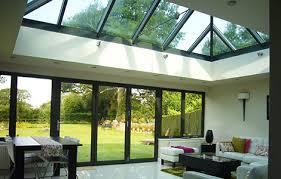 glass skylight and glass glazing skyarch roofs