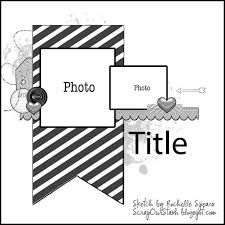 1230 best scrapbook layout sketches images on pinterest