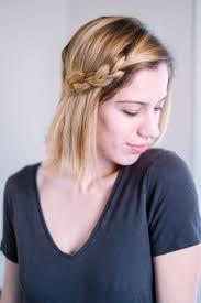 side braid tutorial for short hair u2014 it u0027s julien