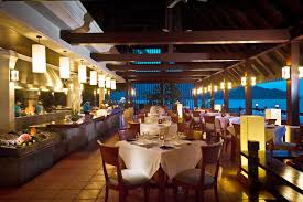 pangkor laut island resort romantic dining area home design and