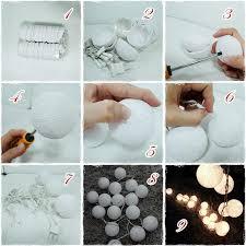 String Lights Balls by 3 Meter 20 Leds Cotton Balls String Lights Xmas Lovers Luces De